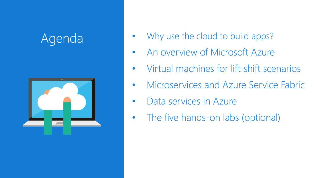 agenda for Visual Studio Everywhere deck