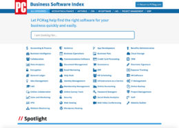 Business Software Index