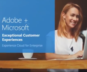 Adobe+Microsoft video